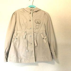 Jack by BB Dakota Women's Tan Jacket Hooded M
